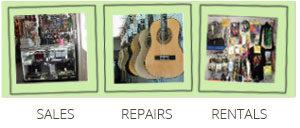 Sales, Repairs, Rentals
