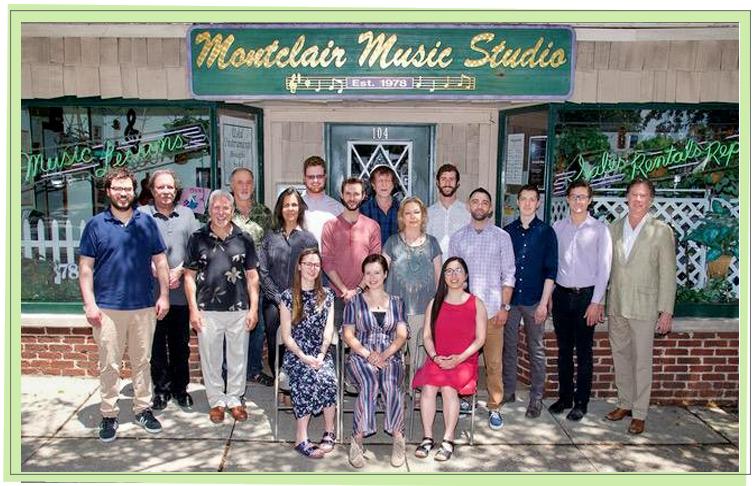 Montclair Music Studio Faculty